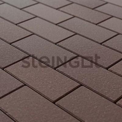 Брусчатка 200х100х40 Темно-коричневая (полный прокрас)