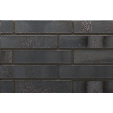 Ströher фасадная плитка 650 Eisenschwarz 240х52х12
