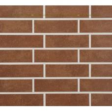 Ströher фасадная плитка 841 Rosso (глазурованная плитка) рельефная 240х71х8