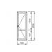 Пластиковые балконные двери Veka