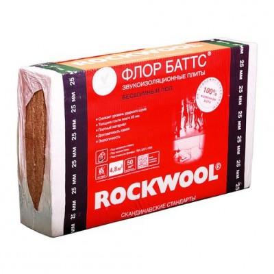 Плита Флор-Баттс ROCKWOOL 50 мм (0,12)