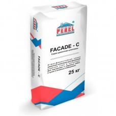 PEREL Шпатлевочная смесь Fasade-c 25 кг