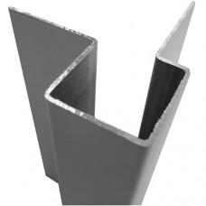 Внешний асимметричный угловой профиль алюм.