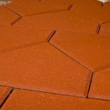 Плитка тротуарная Браер Красный Тициан