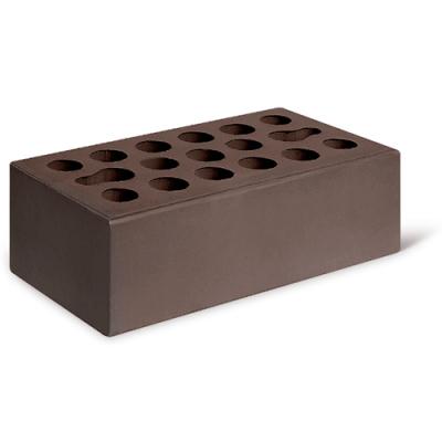 """Кирпич лицевой """"Шоколад"""" 1,4NF гладкий утолщ. КЕРМА"""