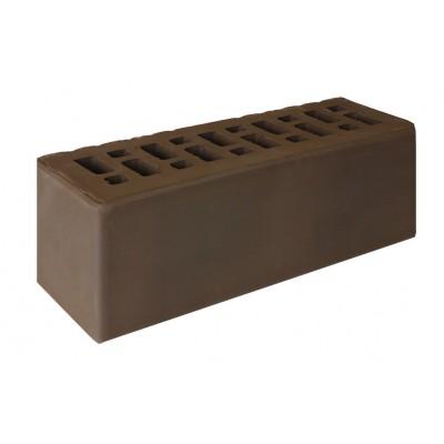 Кирпич ЕВРО утолщенный лицевой коричневый М150,175 РКЗ