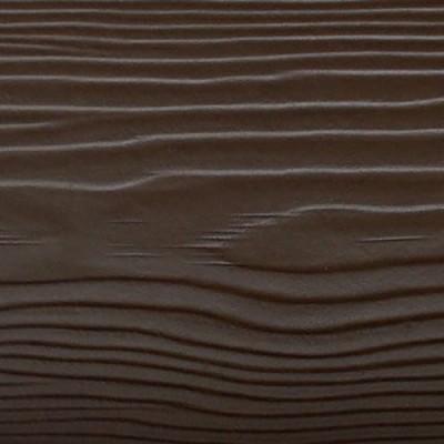Доска CEDRAL (С21 коричневая глина) wood под дерево (внахлест)