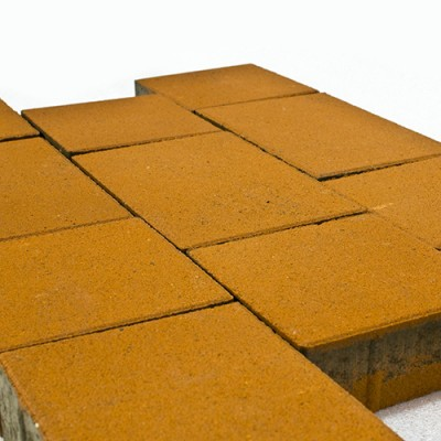 Тротуарная плитка Браер Оранжевый Ландхаус 2