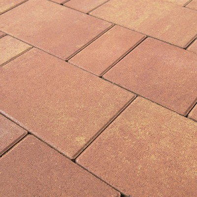 Плитка тротуарная Браер Color Mix Тип 10/ Рассвет