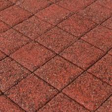 Плитка тротуарная Браер Гранит красный