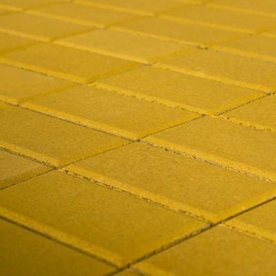 Плитка тротуарная Браер Желтый 2