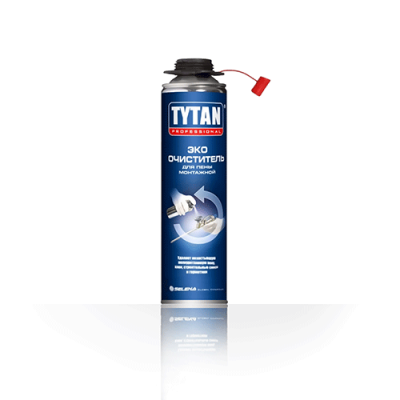 Очиститель для монтажyой пены TYTAN Professional ЭКО