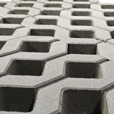 Газонная решетка Меба Браер Серый