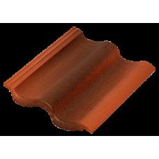 Sea Wave цементно-песчаная черепица антик красный