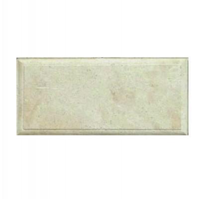 Фасадная плитка белый песчаник с фаской