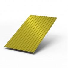 Профилированный лист МП-10х1100 (ПЭ-01-1018-0.45) желтый цинк