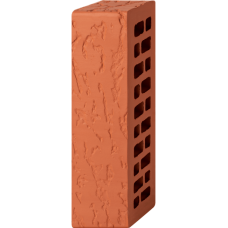 Кирпич лицевой красный 0,7НФ - Дуб
