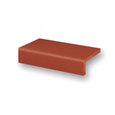 Ströher ступень балконная прямой угол Terra Patrician red